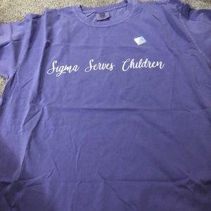 Sigma serves children T-shirt